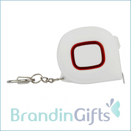 GLOW Measure Tape with Keyholder