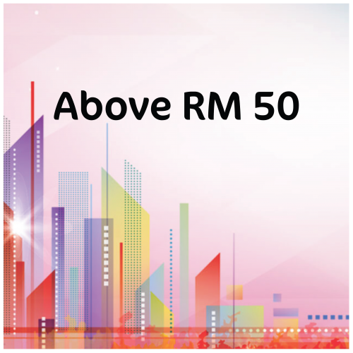 Above RM50