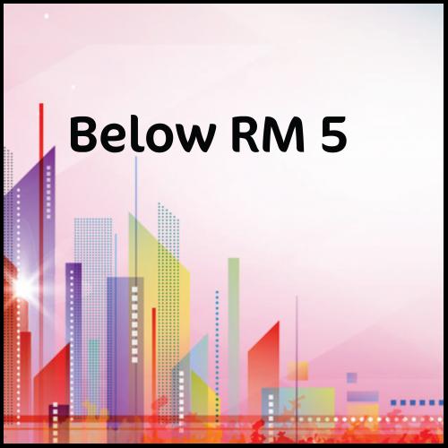 Below RM5